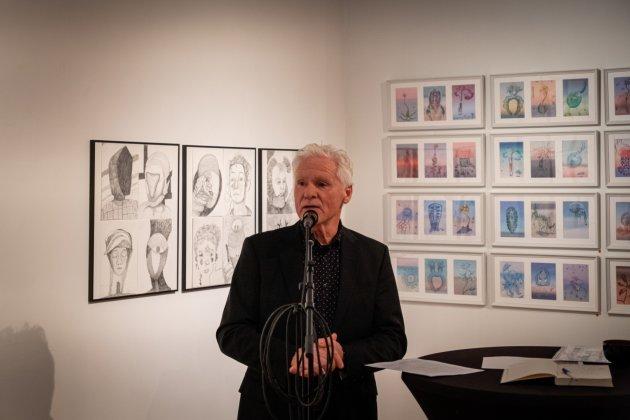 Openings speech van Janno Fleer bij de  Expositie Imaginairre portretten